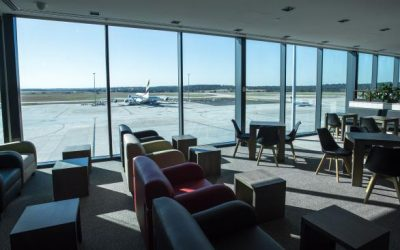 Melbourne airport's new lounge is changing all the rules about airport lounges