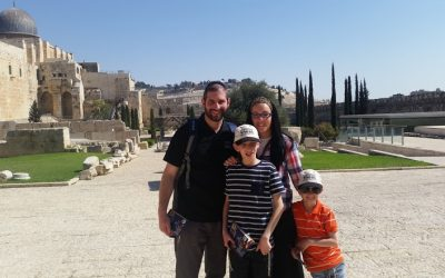 Exploring sights off the cobblestone path in Israel with Danny Englman