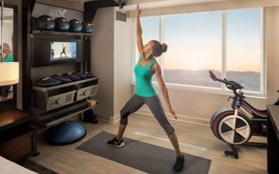 Hilton Launches Revolutionary New Guest Room, Five Feet to Fitness™