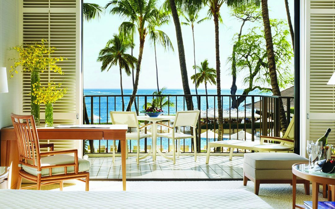 An oasis of tranquility in the heart of Waikiki